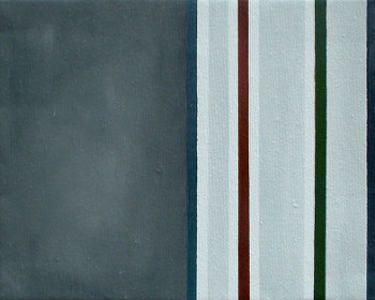 Grau, 2005, Eder, 24 x 30 cm#Öl auf Leinwand