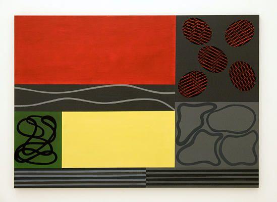 Christian Eder-ausstellungen- Abstrakton-painting-parallele ordnungen