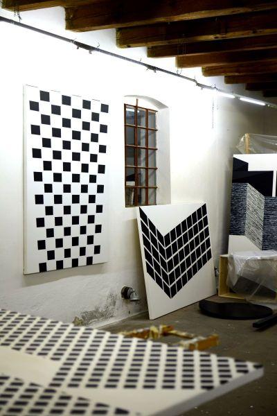 Eder - Studio view / Atelier-Vienna-Illmitz, Austria - AT