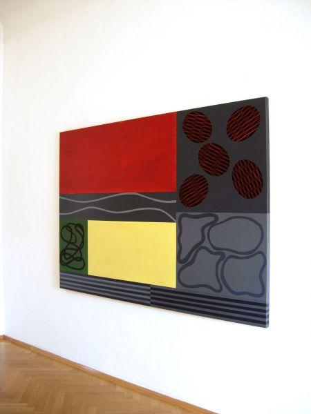 Ausstellungsansicht-Minoriten Kulturzentrum Graz-Ausstellung Christian Eder, 2008
