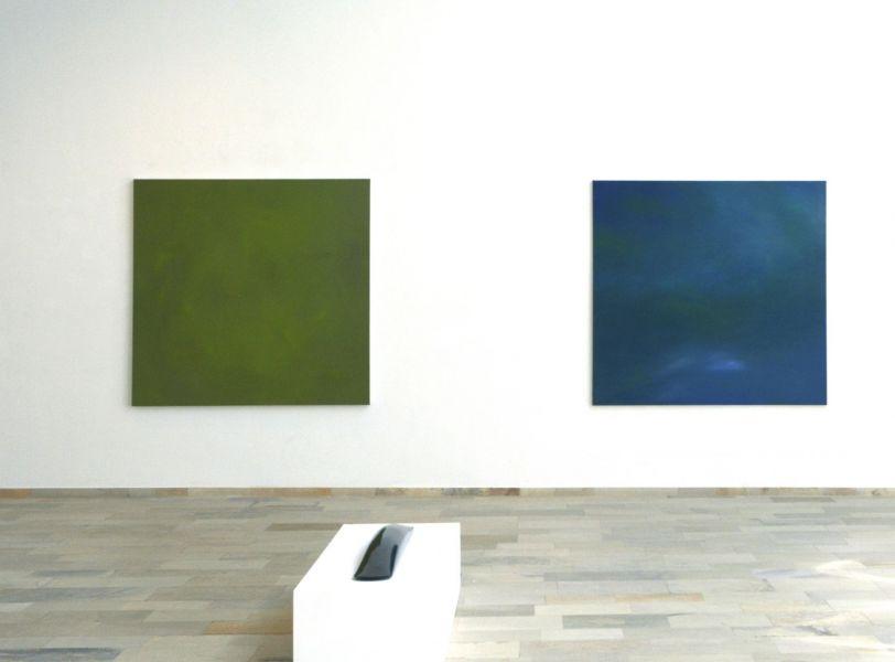 Oberösterrich-Gmunden-Kammerhofgalerie Gmunden#Ausstellungsansicht Eder- Paszkiewicz