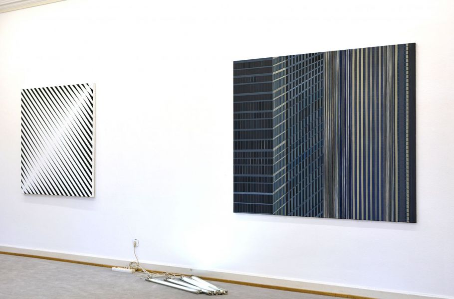 Christian Eder: Greetings from Manhattan, Painting