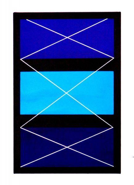 Ausstellung ORF Dornbirn-konstellation-blue-black-
