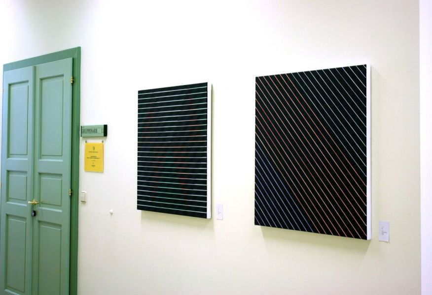 Krems-Donau-Ausstellungsansicht Donau-Universität