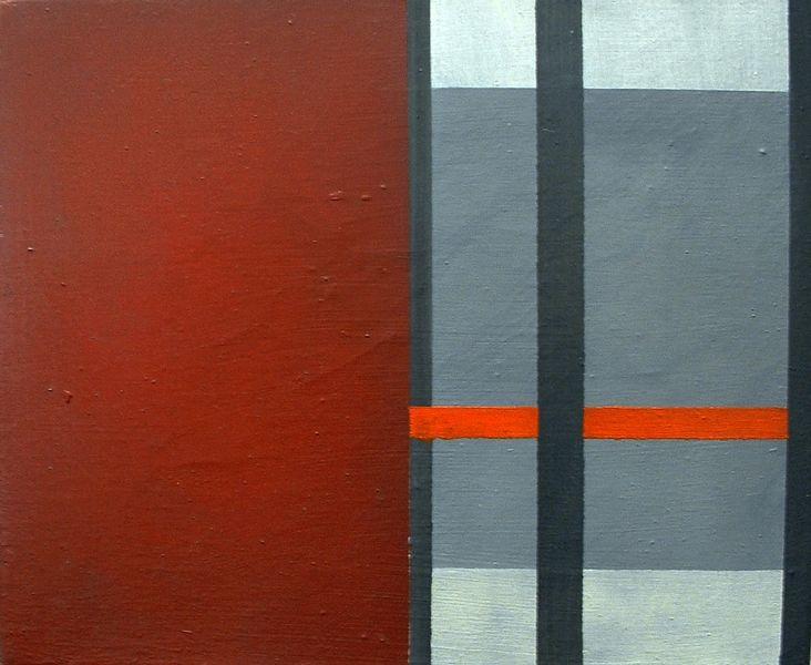 Rot, 2004, Ausstellung Bregenz, Vorarlberg