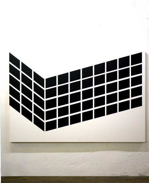 Rechteck in Winkelverbindung, 2019#180 x 120 cm