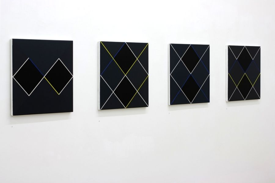 Wien-Galerie Artmark-Ausstellungsansicht