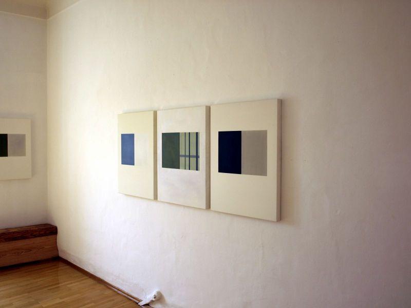 Graz-Ausstellung Duale Farbsysteme-Ausstellungsansicht