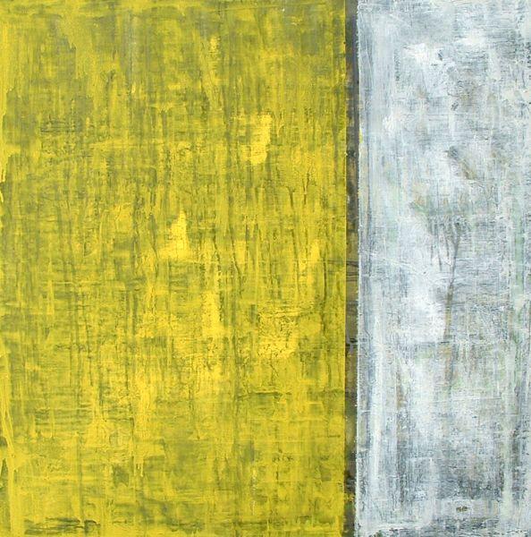 Grün, 2004#Öl auf Leinwand#60 x 60 cm