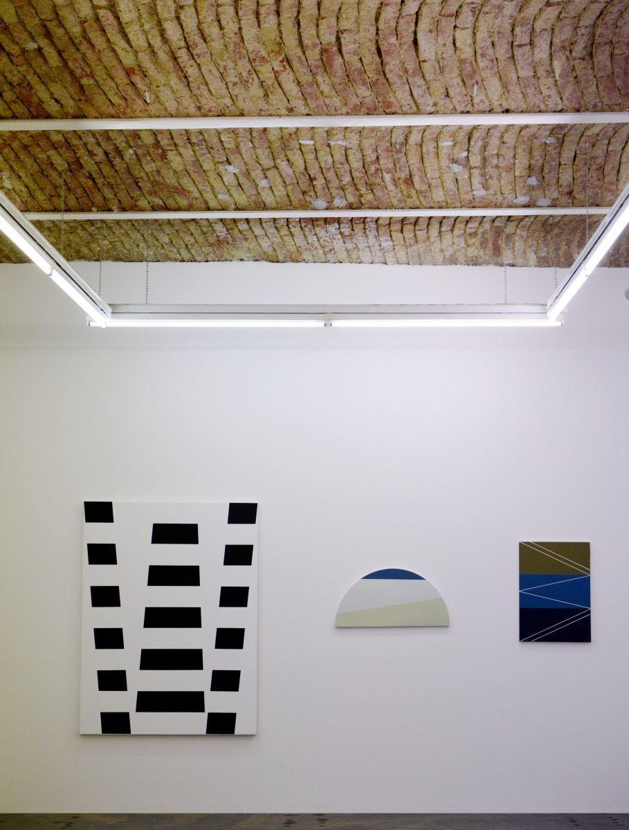 Christian Eder, Ausstellungsansicht, Galerie Feichtner Wien