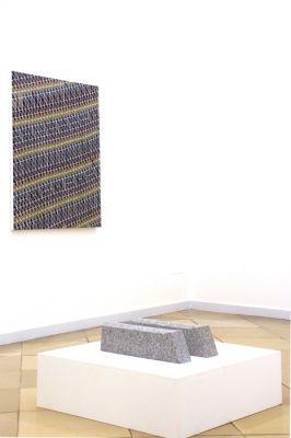 Ausstellungsansicht, Malerei -Skulptur