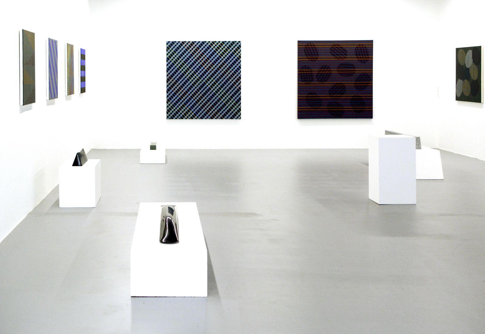 Ausstellungsansicht-Christian Eder-Linz-Galerie Brunnhofer