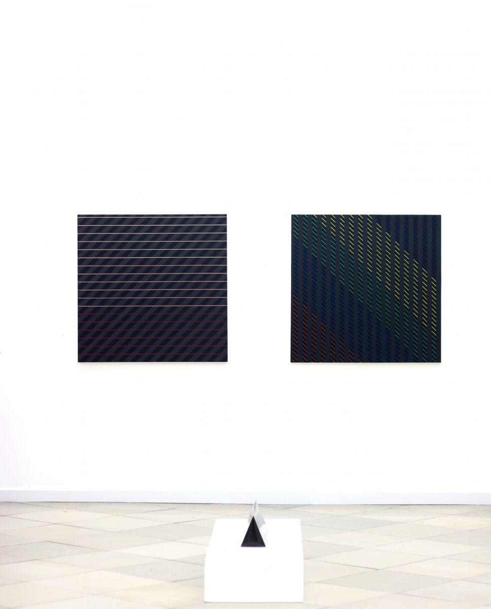Ausstellungsansicht Christian Eder Wien - Galerie Artmark