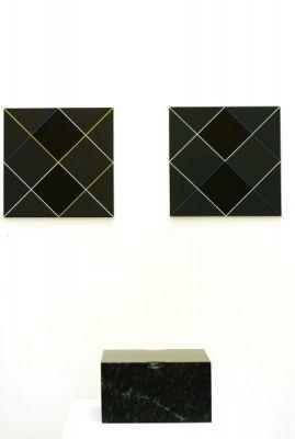 Ausstellungsansich-#Galerie Artmark--Wien