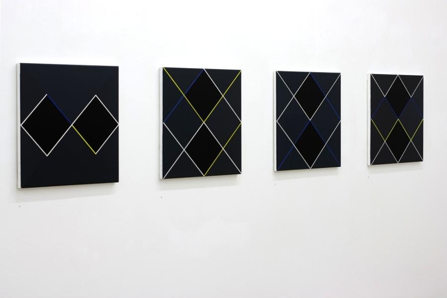 Christian Eder Wien-Galerie Artmark, Ausstellungsansicht